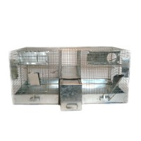 Cage for chinchillas 2 + 1