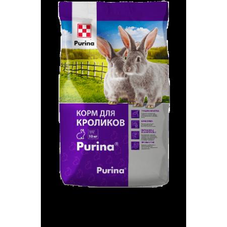 Корм Пурина для кролей упаковка
